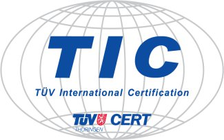 Логотип TÜV International Certification (TIC)